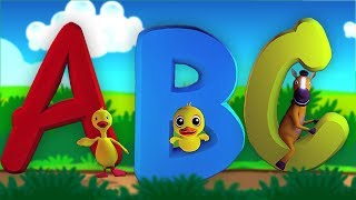 Alphabets Song | A - Z Videos For  Children | Preschool Learning Videos by Kids Baby Club
