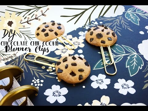 DIY Chocolate Chip Cookie Planner Clip: Gift Idea for Students, Teachers, or Planner Lovers!