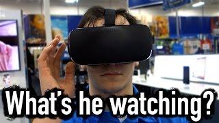 THE DANGER OF VR IN PUBLIC - [Living In Alaska 260]