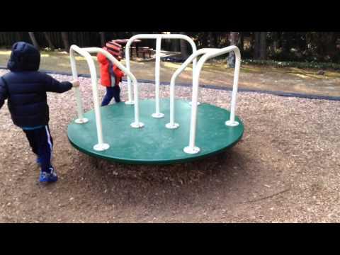 Merry go round at Playground