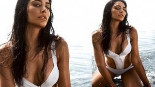 Swimsuit Sensation: Nargis Fakhri Dons Two Piece For Magazine Cover Page