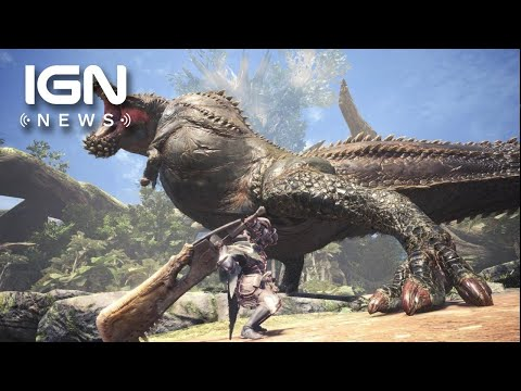 Monster Hunter World: Deviljho DLC Release Date Announced - IGN News