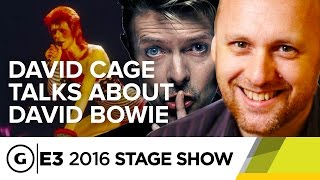 David Cage on Working with David Bowie - E3 2016 Stage Show