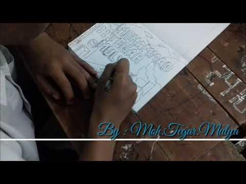 Gambar Sketsa 3d Youtube