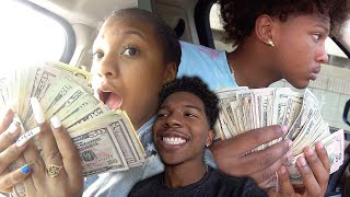 I GAVE MY SIBLINGS $20,000 FOR GETTING STRAIGHT A's!