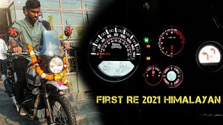 Taking Delivery of Royal Enfield 2021 bs6 Himalayan | Mirage Silver