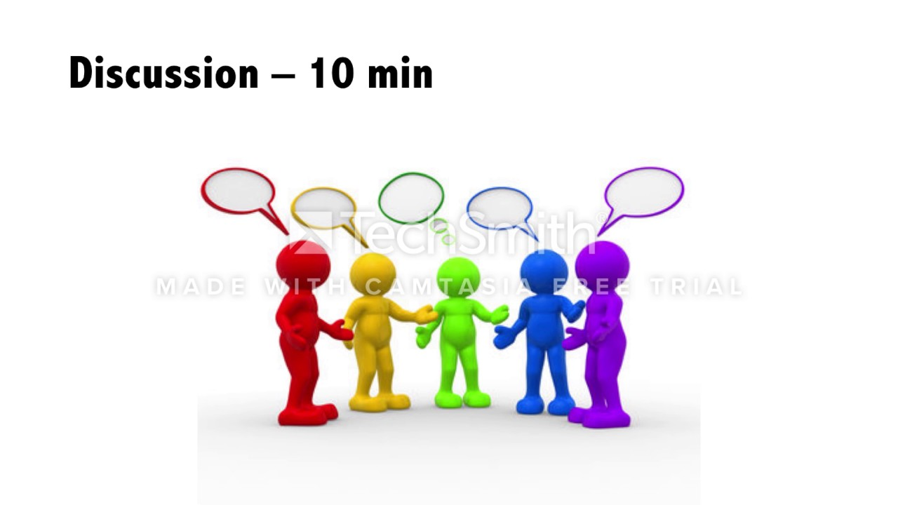 Tutorial of a small group discussion about coming to ...
