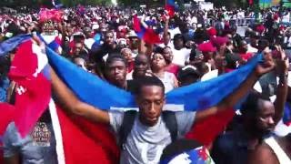 west indian day parade 2016 haitians on eastern parkway brooklyn ny