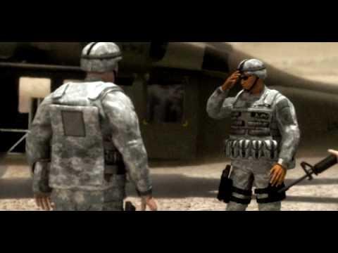 Army Civil Affairs (CA) 38B - Animated Vignette
