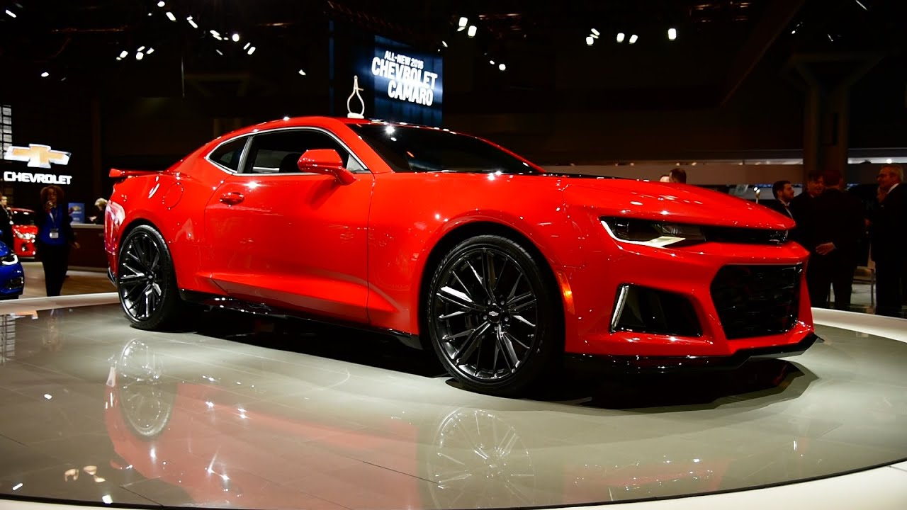 2017 Chevrolet Camaro Zl1 First Look 2016 New York Auto
