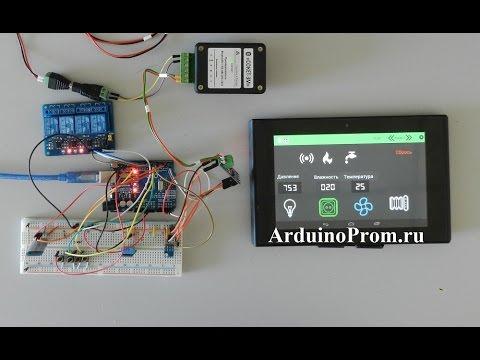 эхолот своими руками arduino