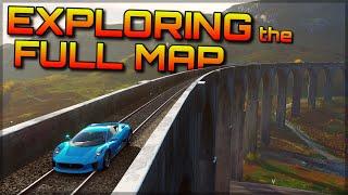 Forza Horizon 4   Exploring the full map + Fun locations!