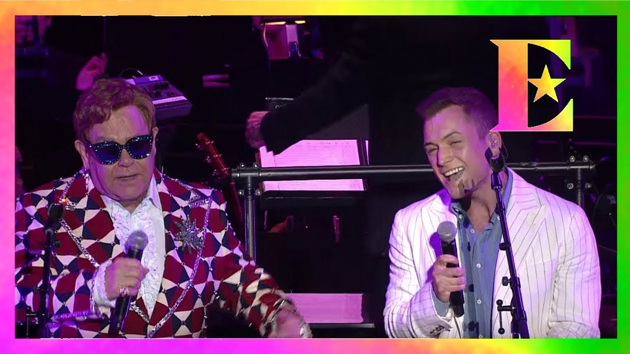 Elton John & Taron Egerton at Rocketman: Live In Concert