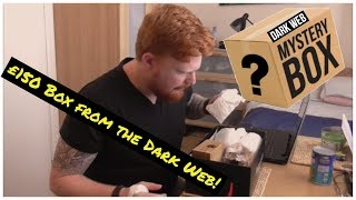 Unboxing £150 Real Mystery Box From The Dark Web (viewer discretion advised)