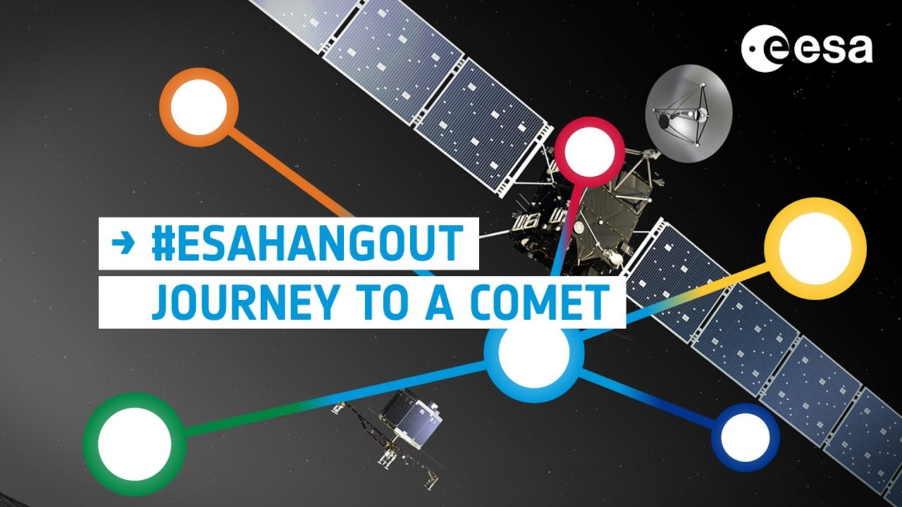 ESAHangout: How do we journey to a comet?