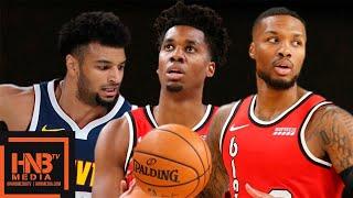 Denver Nuggets vs Portland Trail Blazers - Full Game Highlights | October 8, 2019 NBA Preseason