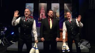 Comedy Juggling Twins Nick & Alex on Tonight in San Diego TV Show