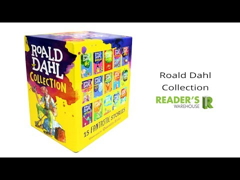 Roald Dahl 15 Book Box Set - Reader's Warehouse