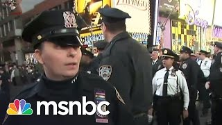 Protesters Clash With Police In New York City | Rachel Maddow | MSNBC