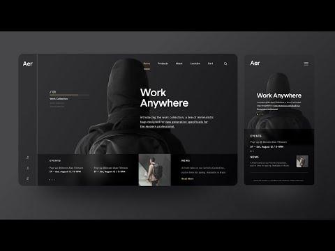 Adobe XD Web Design Tutorial For Beginners