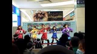 11/17イオンモール浦和美園店で行われたリリースイベントの2部の「Brave...