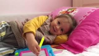 Abc song with Zeynep.