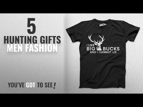 Top 10 Hunting Gifts [Men Fashion Winter 2018 ]: Mens I Like Big Bucks And I Cannot Lie Funny Deer