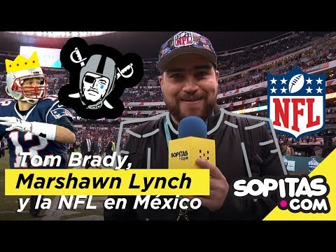 Tom Brady ignored a journalist with a gift. So Marshawn Lynch got a Mexican national team jersey.
