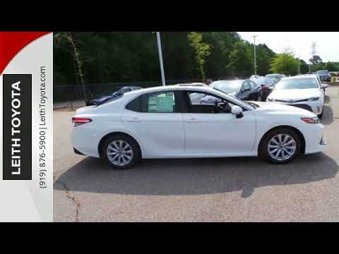 New 2018 Toyota Camry Raleigh For Sale, NC #T004304