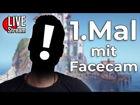 🔴 1. Stream mit Facecam - Crocodileandy