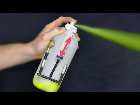 How to Make BIG Air Paint Spray Gun DIY