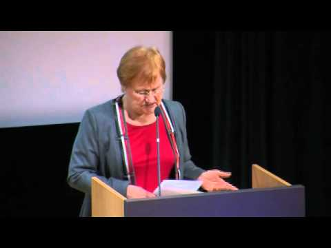 President of Finland Tarja Halonen at Helsinki Process +10 Conference