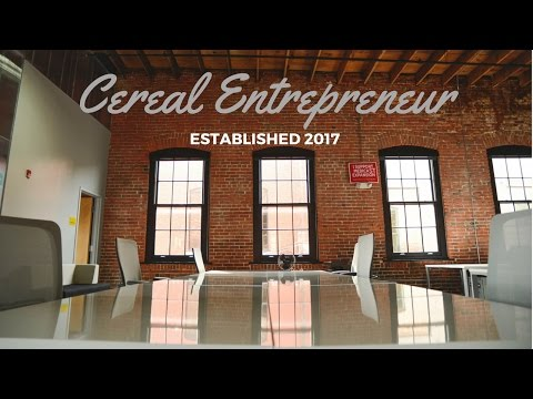 Cereal Entrepreneur: Welcome (First Video Production)