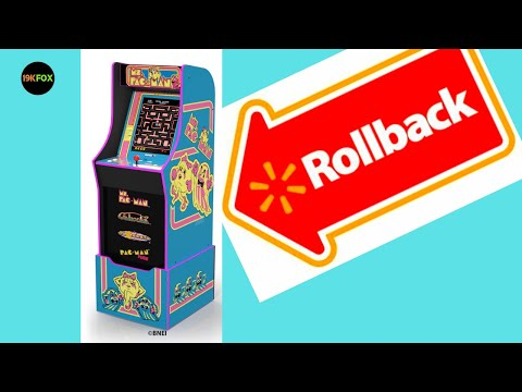 Arcade1up Ms. Pac-Man cab on Rollback?? from 19kfox
