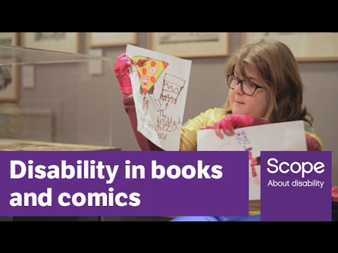 Disabled children and their parents discuss representation of disability in literature - Scope