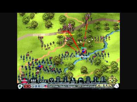 Let's Play Sid Meier's Gettysburg! - USA X - The Hagerstown Road: Sedgwick's Charge  