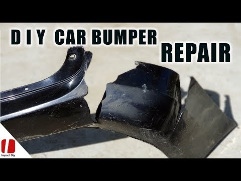 How To Repair Car Bumper