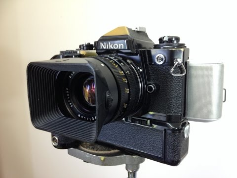 "Convert SLR Camera to Digital with ""Electric Film"""
