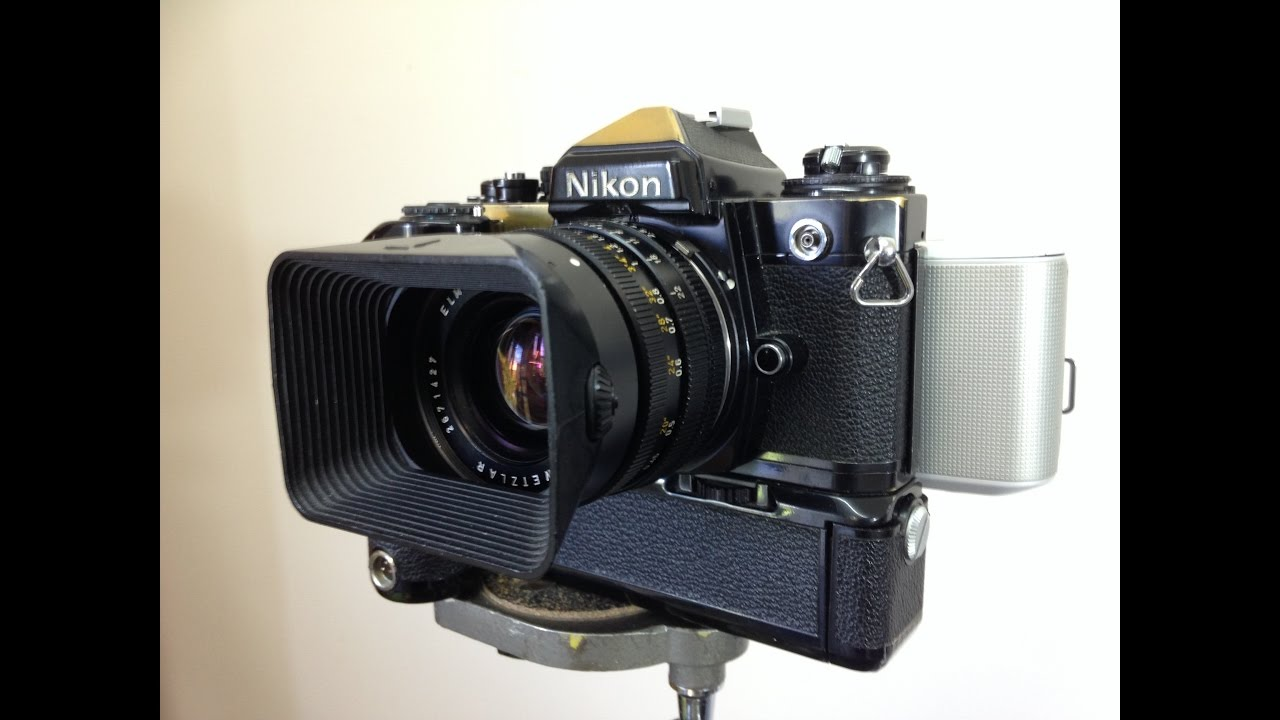 """Convert SLR Camera to Digital with """"Electric Film"""""""