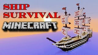 Minecraft - Ship Survival Thumbnail