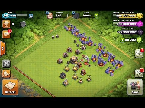 Clash of clans MOD version REALLY Avalable onhax.com