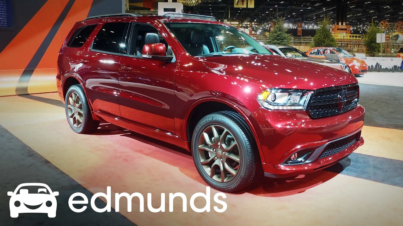 2017 Dodge Durango Review Features Rundown Edmunds Youtube