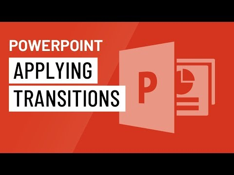 PowerPoint 2016: Applying Transitions