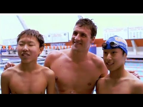 Ryan Lochte Surprises Swim Team with SwimOutlet.com Delivery!