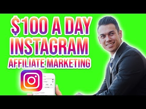 How To MAKE $100 A DAY Instagram Affiliate Marketing For Beginners
