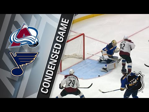 03/15/18 Condensed Game: Avalanche @ Blues
