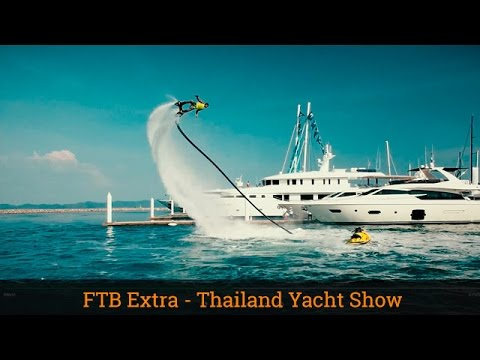 SUPER YACHTS & FLYBOARDING!
