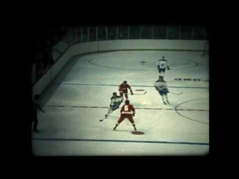 1972 73 Atlanta Flames vs Buffalo Sabres hi-lites of 2nd period