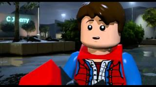 lego dimensions back to the future level pack wii u walkthrough