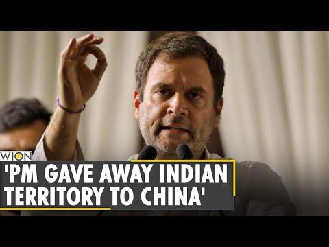 'PM Modi gave away Indian territory to China', alleges Congress leader Rahul Gandhi   Ladakh   News